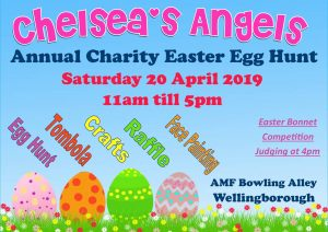 Chelsea's Angels Children's Charity - Annual Easter Egg